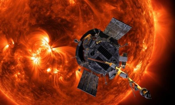 Ventos a 150 km por segundo. Sonda espacial entra pela primeira vez na atmosfera do Sol