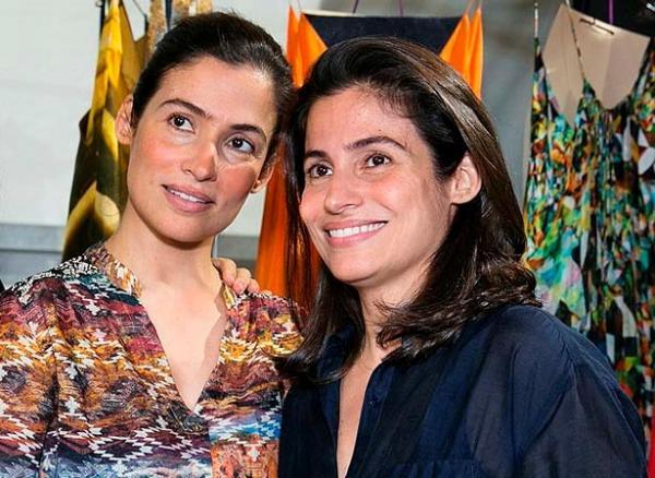 Renata Vasconcellos relembra quando o namorado de sua gêmea a confundiu e um acidente quase aconteceu – Foto: reprodução Internet