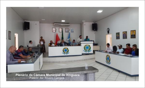 Câmara Municipal de Xinguara realiza primeira sessão do ano e aprova escolha dos membros das Comissões e calendário das sessões ordinárias de 2020