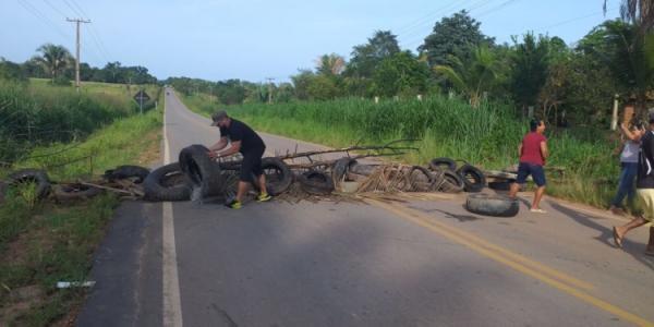 Moradores de Itupiranga bloquearam a PA-268