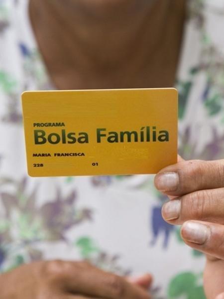 Cartão de beneficiário do Bolsa FamíliaImagem: Divulgação
