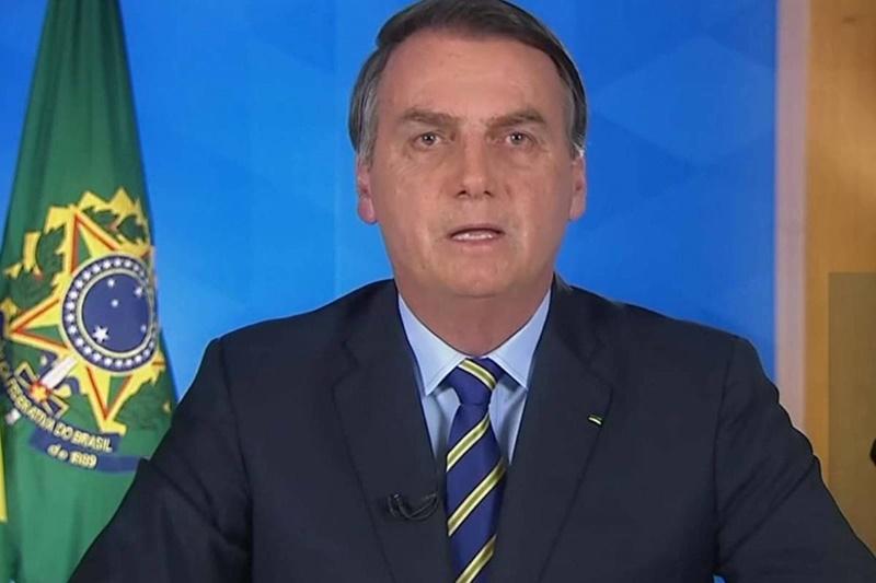 Bolsonaro faz nesta terça-feira (31) o 4º pronunciamento em rede nacional sobre o coronavírus - Reprodução