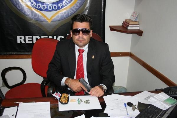 """Delegado """"Caveira"""" sofre represálias após denunciar filho de prefeita"""