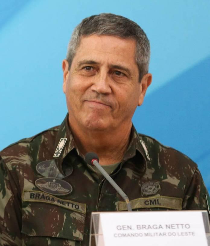 General Walter Braga Netto, apontado como o