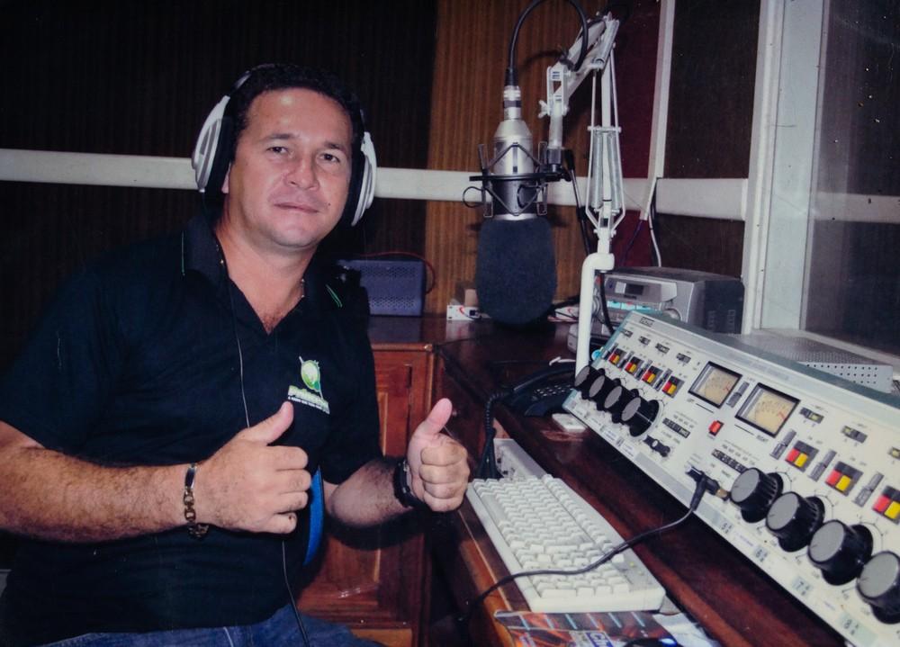 Jairo de Sousa, radialista assassinado no Pará — Foto: Rafael Oliveira/Abraji