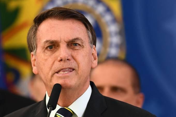 Jair Bolsonaro é acusado de tentar controlar a PF Evaristo Sa/AFP