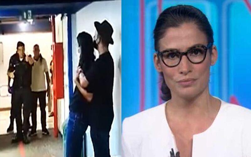 Diretor de Jornalismo da Globo, chegou a negociar com o suspeito, mas o homem foi imobilizado e neutralizado. | Reprodução