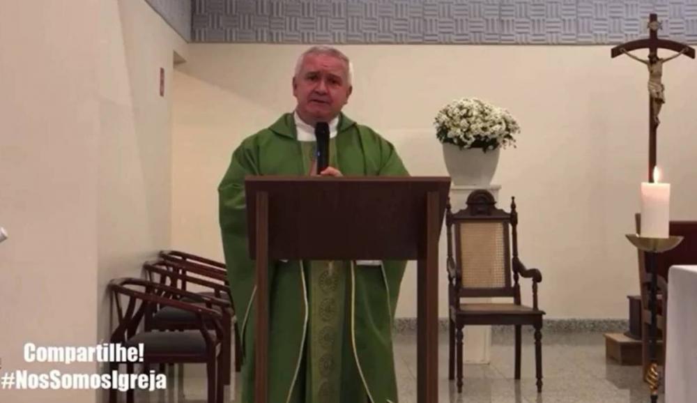 Padre Edson Adélio Tagliaferro (Foto: Reprodução)
