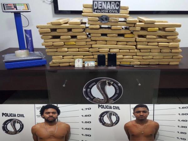 Sul do Pará: Operação conjunta da Polícia Civil prende traficantes nos Estados do Goiás e Pará