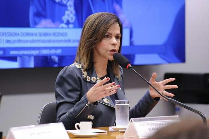 A deputada federal Professora Dorinha é a relatora da proposta de emenda à Constituição que torna o Fundeb permanente (foto: Cleia Viana/Câmara dos Deputados)