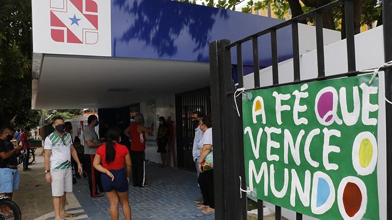 Políclinica em Belém | Mauro Ângelo/Diário do Pará