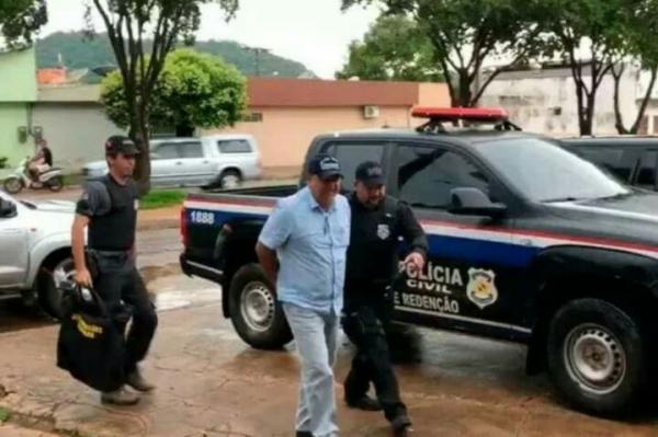 Ex-prefeito de Pau D'arco (PA) é preso preventivamente