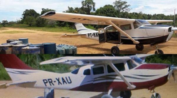 Aeronaves são roubadas de pista de pouso no sudoeste do Pará