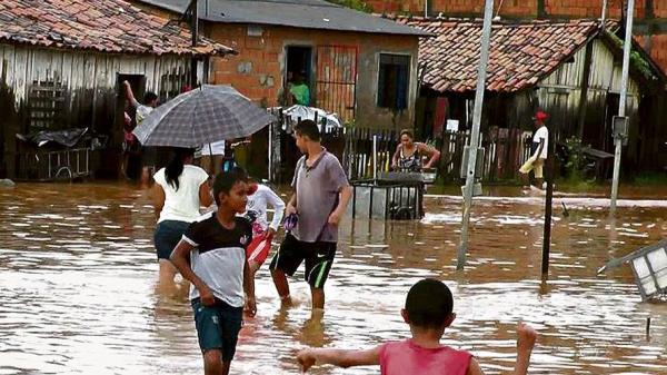 Quinze municípios do Pará decretam situação de emergência