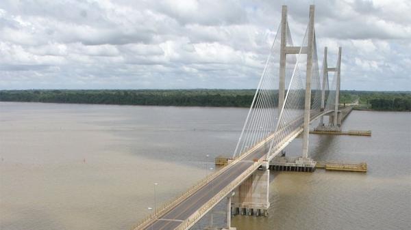 Ponte da Alça Viária estaria com a estrutura danificada