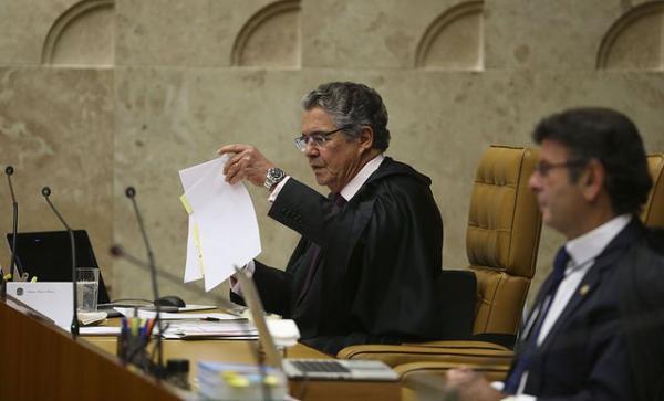 Marco Aurélio propõe que STF discuta liminar para impedir prisão após 2ª instância