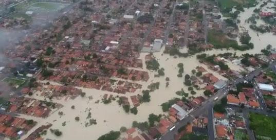 Represas particulares maior causa do alagamento em Paragominas
