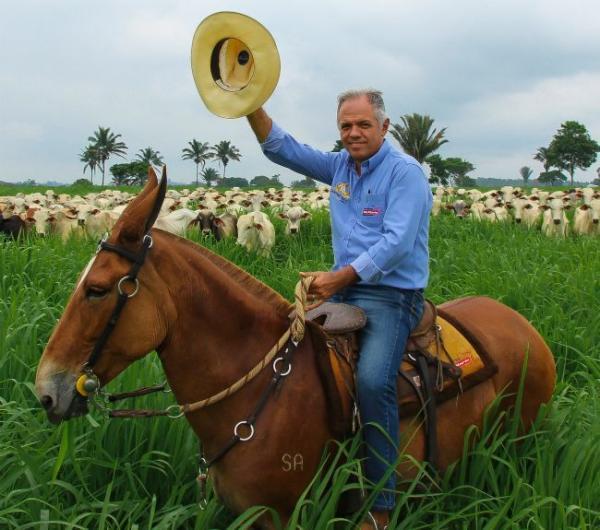 Rio Maria (PA):  A paixão de Roberto Paulinelli por mulas