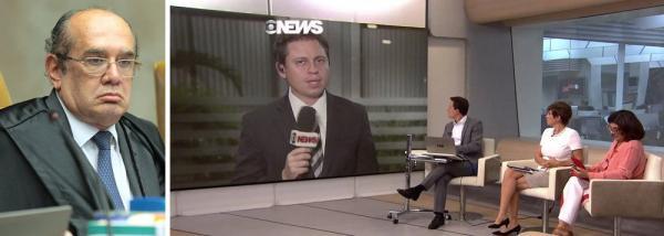 GILMAR CHAMA GLOBONEWS DE '3ª TURMA DO SUPREMO'