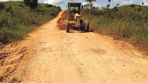 Bannach: Prefeitura inicia recuperação das vicinais