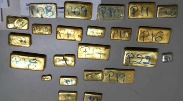 Barras de ouro avaliadas em R$ 1,5 milhão são encontradas em avião que caiu no AM; polícia prendeu uma pessoa