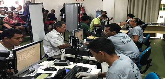 Em 2018, o voto biométrico será obrigatório para eleitores de Brasil Novo e Vitória do Xingu
