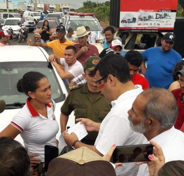 Redenção (PA): População fecha BR-155 em protesto contra a violência