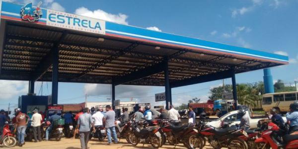 Greve dos caminhoneiros já deixa cidade de Tucumã sem combustível