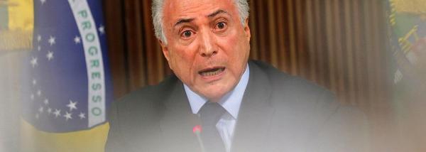 TEMER EDITA DECRETO PARA CONFISCAR CAMINHÕES