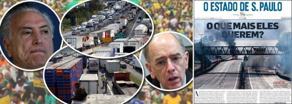 GOLPE AGONIZA E MÍDIA SE TORNA EXPRESSÃO DO DESESPERO