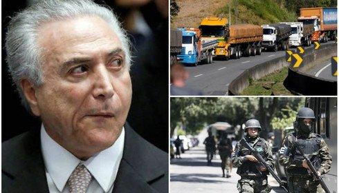 USTIÇA AMEAÇA ACORDO DE TEMER COM CAMINHONEIROS