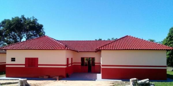Prefeitura de Tucumã reforma escola na zona rural do município