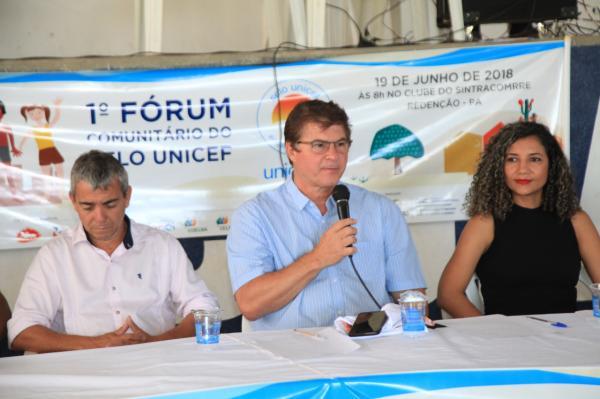 Redenção realiza I Fórum Comunitário do Selo Unicef