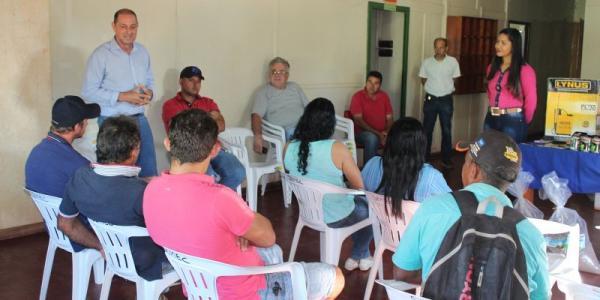 Tucumã: Horticultores recebem doação de adubos e semente pelo o projeto horta produtiva