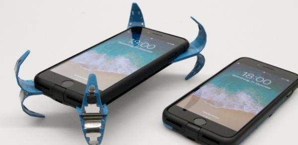 Capa ninja salva o seu celular da destruição em quedas