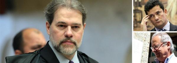 TOFFOLI CASSA DECISÃO DE MORO, QUE IMPÔS TORNOZELEIRA A DIRCEU