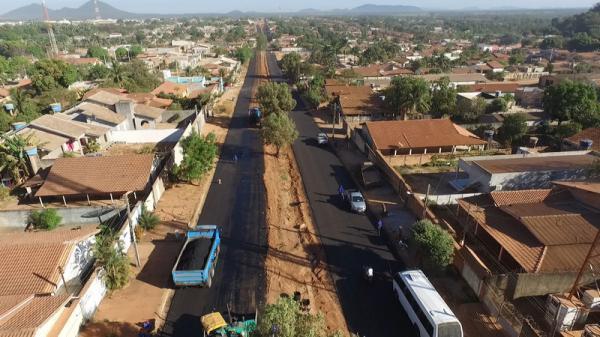 Redenção: Pavimentação asfáltica melhora a qualidade de vida da população