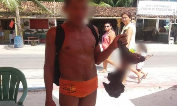 Jovem mata, assa e come um cachorro na Praia do Caripi