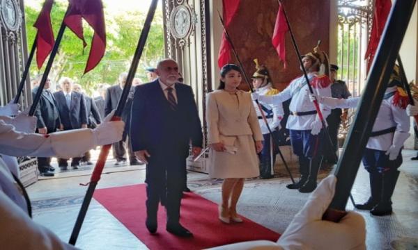 Governador Simão Jatene recebe Princesa Mako no Palácio do Governo