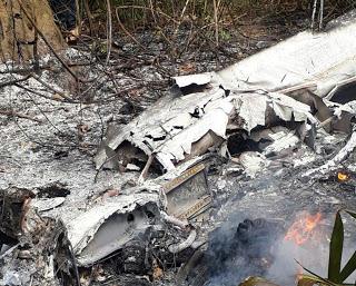 São Félix do Xingu (PA): Avião cai, pega fogo e pessoas morrem
