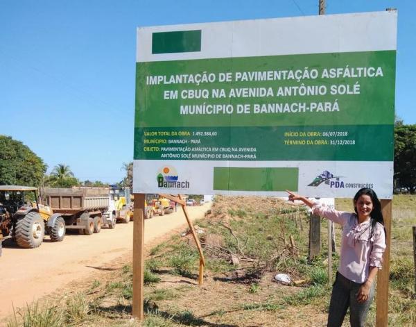 Começa a maior obra de pavimentação em Bannach