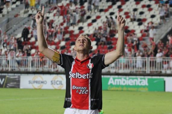 Especulado pelo Paysandu, atacante do Joinville acerca com clube da Série A