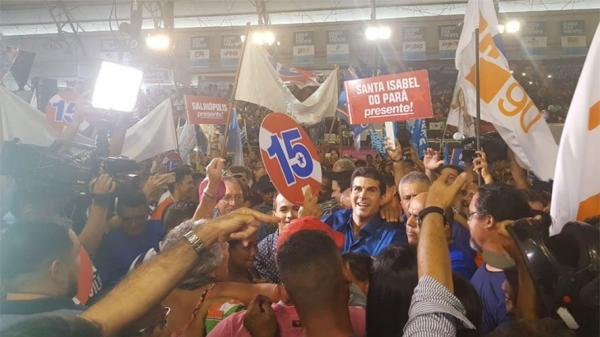 MDB Pará oficializa Helder  candidato ao governo e Jader ao Senado (veja fotos e vídeos)