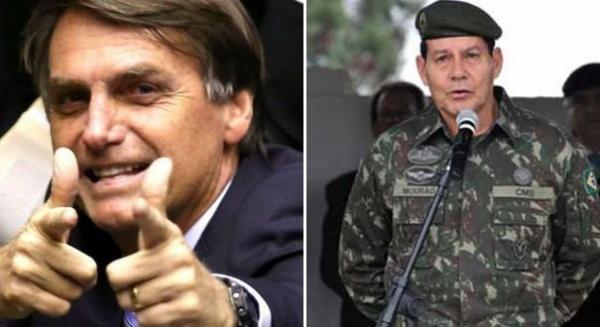 Bolsonaro oficializa general como vice: