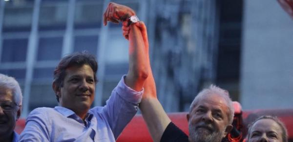 Ser 'candidato de Lula' turbina nome de Haddad, diz pesquisa de corretora
