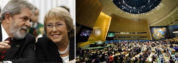 BACHELET DEVE APOIAR DENÚNCIA DE LULA NA ONU