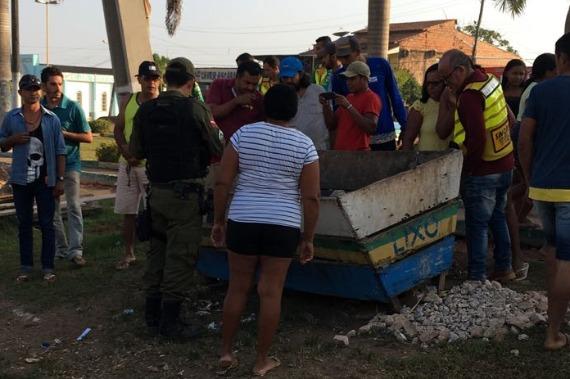 Corpo é encontrado dentro de lixeira em Anapu; dois suspeitos foram presos