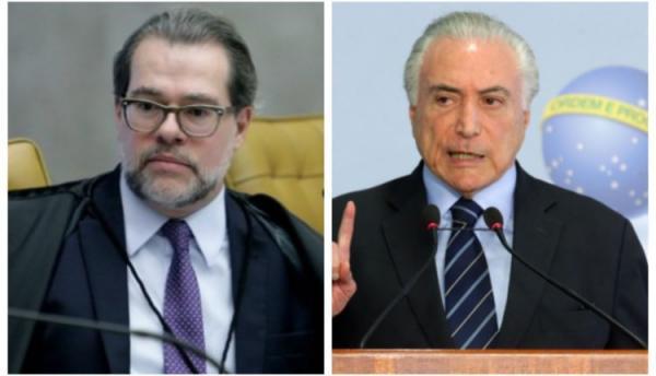 Temer e Toffoli fazem acordo para trocar auxílio moradia por reajuste salarial