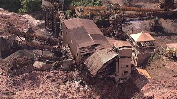 URGENTE: Rompimento de barragem em Brumadinho deixa 200 desaparecidos; Número pode subir