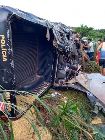 Veja o vídeo do acidente que matou policiais militares no Pará